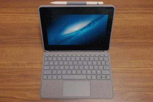 【iPadをPC化】Logicool Combo Touch keyboard Case with Trackpadをレビュー